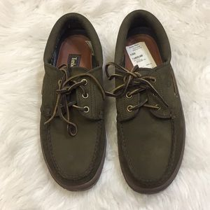 Timberland leather/suede classic boat shoes. 8.5